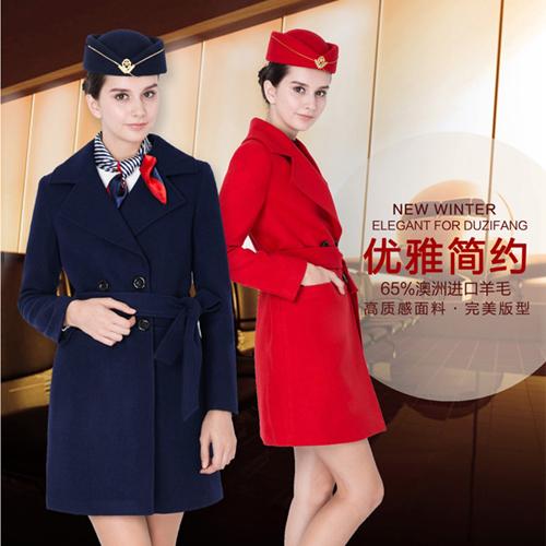 空姐制服,时尚气质尽显
