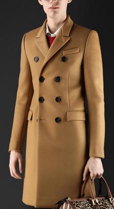 长款羊毛呢子大衣订做