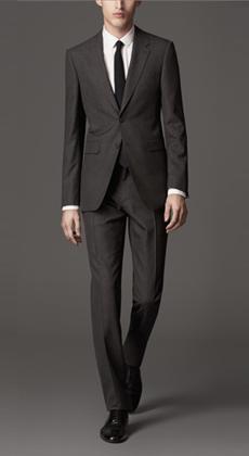 西服定制 企业职业装定做商务白领套装定做 单排扣男式秋冬西装订做