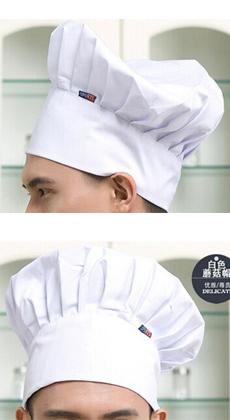 餐饮行业厨师高帽定制