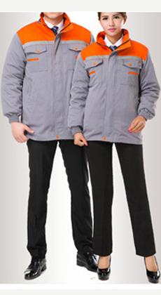 冬季加厚保暖棉袄劳保工作服