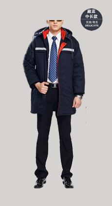 冬季户外外套棉服工厂物流工装工作服冬装棉袄男加厚劳保服棉衣定做