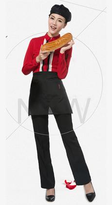 西餐厅服务员工作服订制
