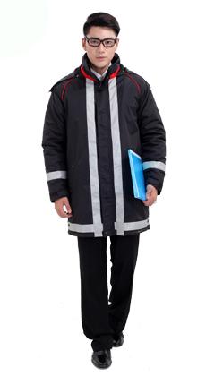 防寒棉袄工程服订做