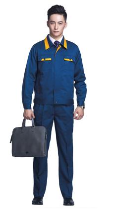 武汉厂家批发男女长袖夹克 工程工作服,电工焊工服,劳保服,4S店工装定做-A