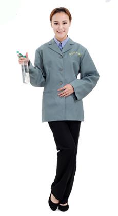 厂家定制长袖物业保洁服套装