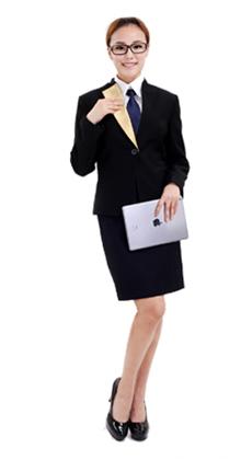 武汉商务白领套裙工作服