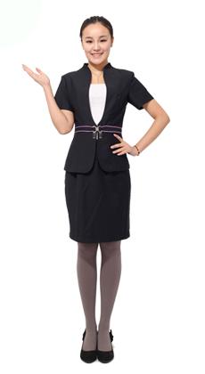 定做商务白领女式套裙工作服