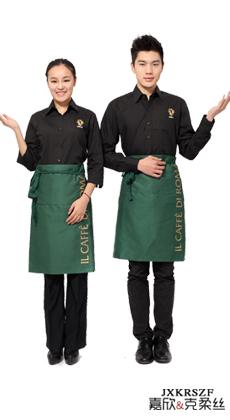 武汉餐厅服务员工作服定制