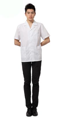 快餐食堂短袖厨师工作服