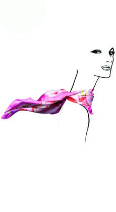新款丝巾定做厂家