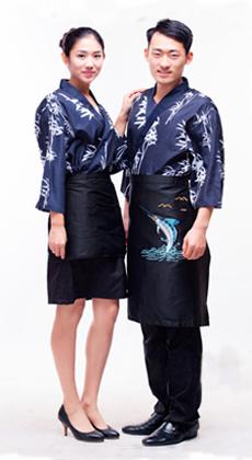 日韩料理厨师服定制