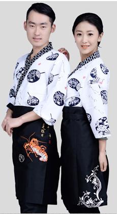 韩式短袖厨师服定做厂家