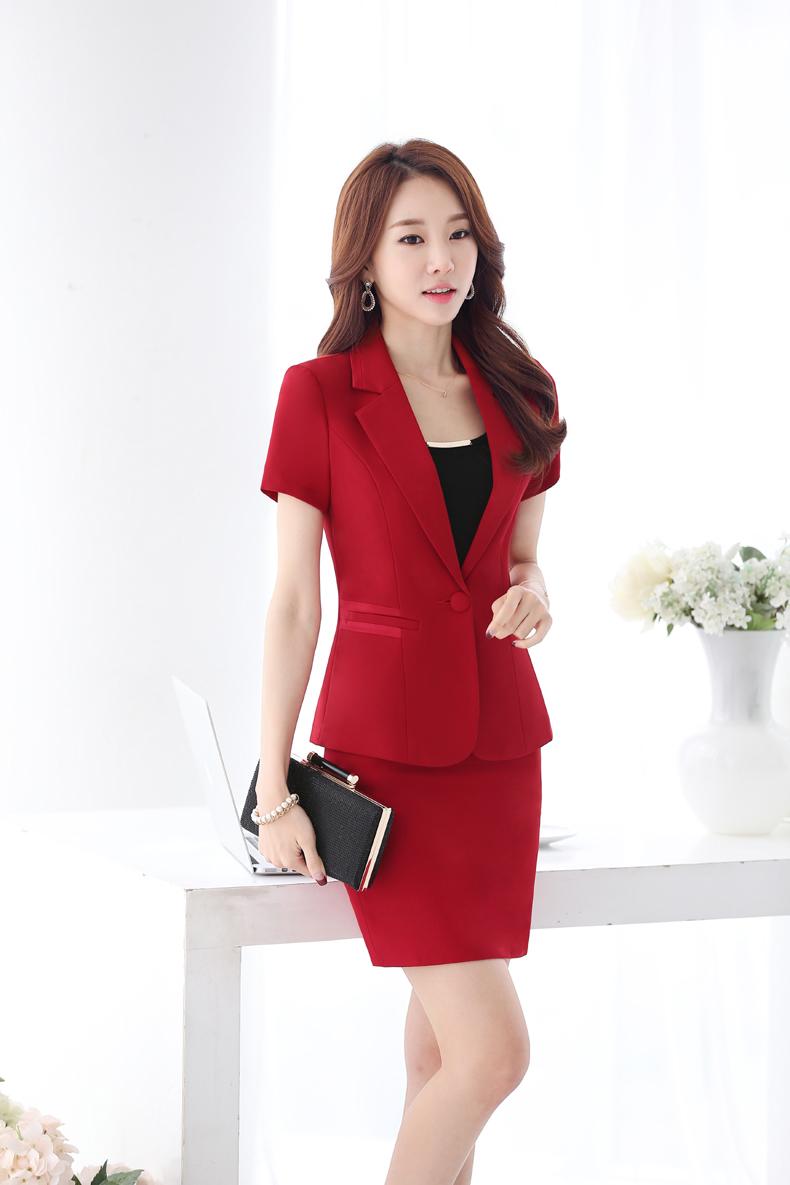 西装套装,女式新款时尚气质正装,女士工作服